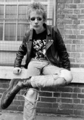 John Bingham  football hooligan  July 1985.
