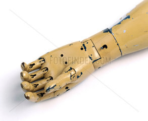 Hand from an artificial arm  1915.