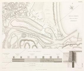 Plan of Aberdeen Harbour  1838.