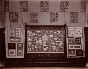 Kodak exhibition interior  1897.