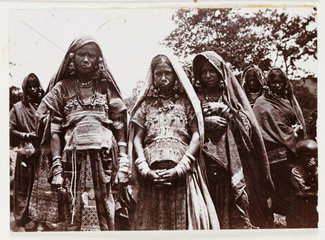 Group of Indian women  c 1910.