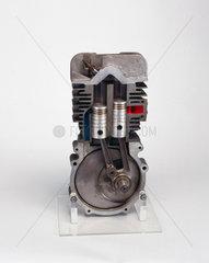 Ehrlich two-stroke motorcycle engine  1946.