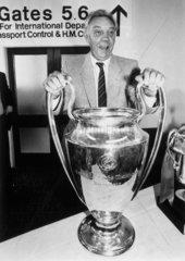 Joe Fagan  football manager  31 May 1984.
