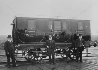 Stockton & Darlington Railway coach no 31.