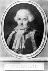 Pierre Simon  French physician  mathematician and astronomer  c 1800.