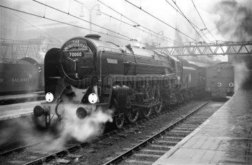 The 'Norfolkman' locomotive  2 February 1951.