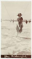 'The Fishergirl'  c 1918.