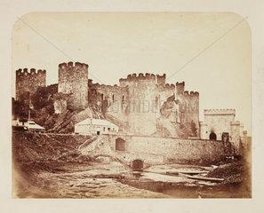 Conway Castle  c 1855.