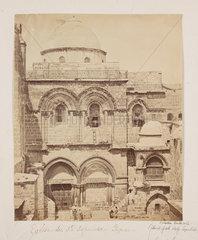 'Eglise du St Sepulchre Facade'  1857.