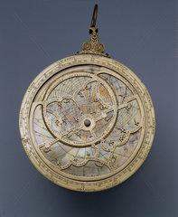 Brass astrolabe  1558.