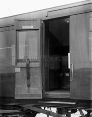 Third class coach with cross corridors  24th May 1945.