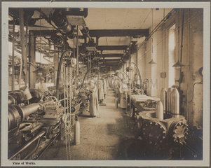 'View of Works'  Cunard Munition Works  Liverpool  1914-1918.
