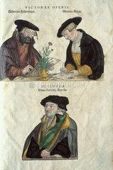 Albrecht Mayer  Veil Rudolph Speckle and Heinrich Fullmaurer  1545.