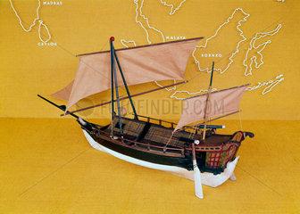 Javanese proa  c 1850.