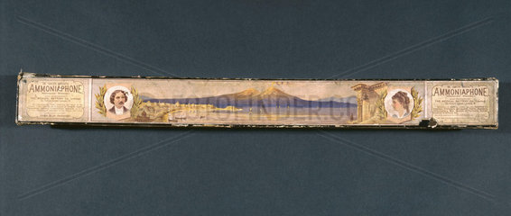 Ammoniaphone box  English  1871-1900.