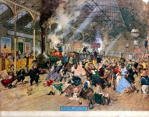 'Stilton Junction  Great Gnawing Railway'  19th century.