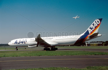 Airbus A340  1990s.
