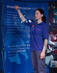 'Bubble Show'  Science Museum  London  October 2000.