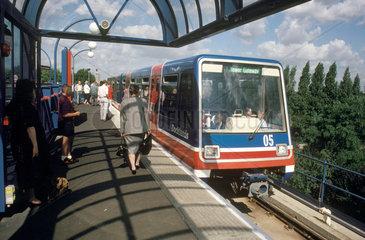 Docklands Light Railway  London  1993.