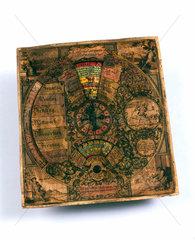 Perpetual calendar  German  1765.