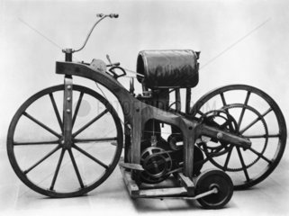 Daimler motorcycle  1885.