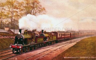 'Britannia' British Railways standard traffic locomotive  1951.