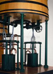 John Dickinson's cylinder paper-making machine  1809.