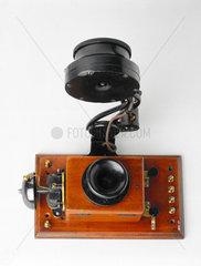 Edison telephone  1879.