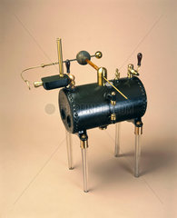 Armstrong's hydro-electric machine  1845.