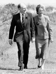 Neil and Glenys Kinnock  March 1987.