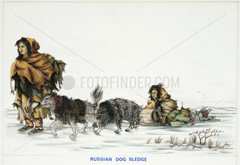 'Russian Dog Sledge'  1967.