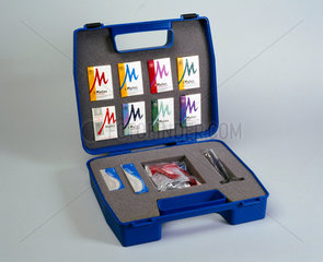 Safer sex resource pack in plastic carrying case  1995.