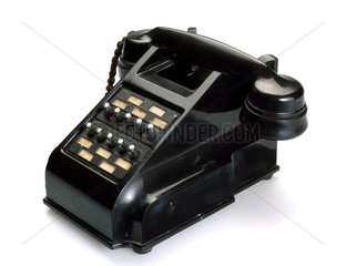 Intercommunicating telephone with ten selector buttons  1950.