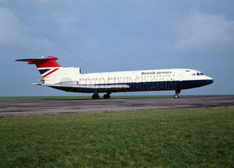 Hawker Siddeley Trident 1E aircraft  1963.