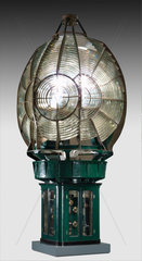 Lighthouse optic from Eilean Glas lighthouse  1907.