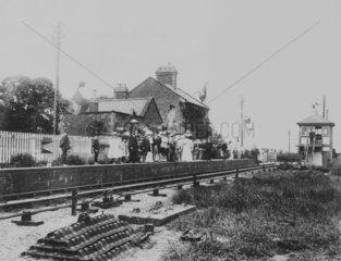 Clenchwarton Station.