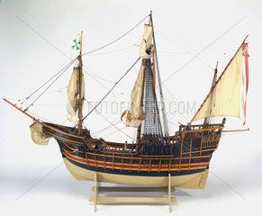 Columbus' 'Santa Maria'  1492.