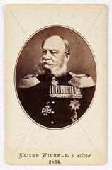 'Kaiser Wilhelm'  1879.