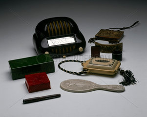 Synthetic and semi-synthetic objects  c 1860-1920.