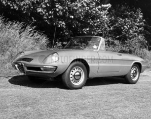 Alfa Romeo 1750 Spider Veloce  June 1969.