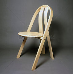 Steam bent stacking chair  1996.