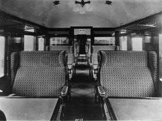 LMS carriage interior  1927.