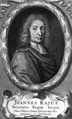 John Ray  English naturalist and pioneer of plant taxonomy  1700.