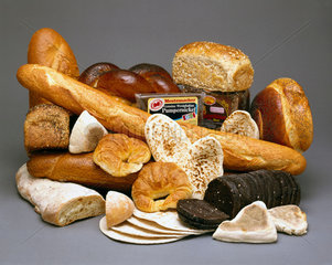 Bread from various countries  1990s.
