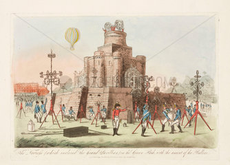 Grand Jubilee celebrations  London  1 August 1814.
