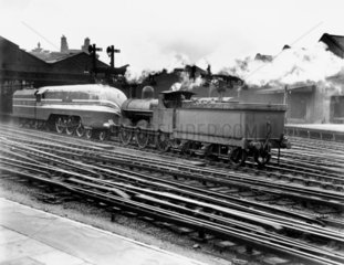 First of the streamlined class 4-6-2  'Coron