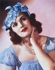 Portrait of a lady  c 1930s.