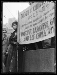 'Boycott Japan'  1930s.