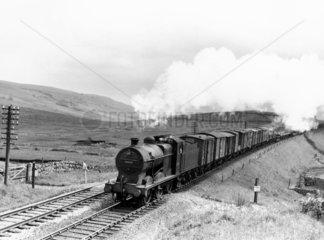 Midland Railway steam locomotive  1955.