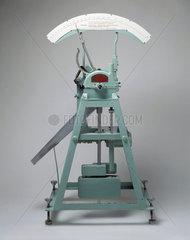 'Tenderometer'  for measuring peas  c 1938.